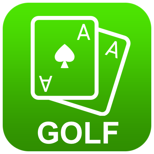 Golf Solitaire 4 in 1 - also with TriPeaks, Pyramid & Black Hole (Golf-artwork)