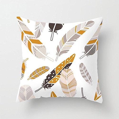 Chillow Cooling Kissen (yinggouen Federn Dekorieren für ein Sofa Kissen Bezug Kissen 45x 45cm)