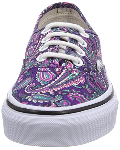 Vans U Authentic (Paisley) Viole, Baskets mode mixte adulte Multicolore