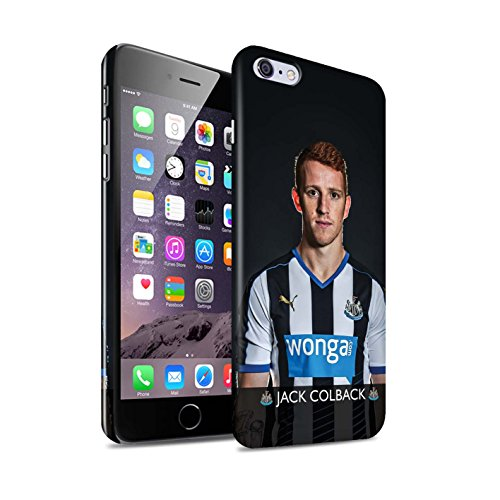 Offiziell Newcastle United FC Hülle / Glanz Snap-On Case für Apple iPhone 6S+/Plus / Pack 25pcs Muster / NUFC Fussballspieler 15/16 Kollektion Colback