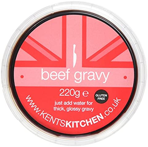 Kents Kitchen Gluten Free Beef Gravy Concentrate 220 g (Pack of 4)
