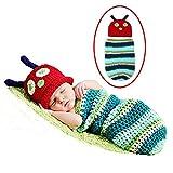 #8: SYGA Baby Infant Newborn Handmade Owl Pattern Crochet Beanie Hat Headband Clothes Baby Photo Booth Props