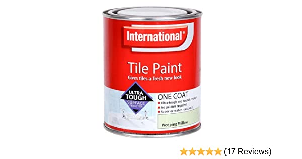 International Tile Paint Weeping Willow 750ml