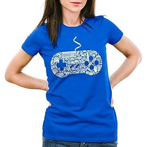 style3 GAMER Camiseta para mujer T-Shirt gamer game videojuego