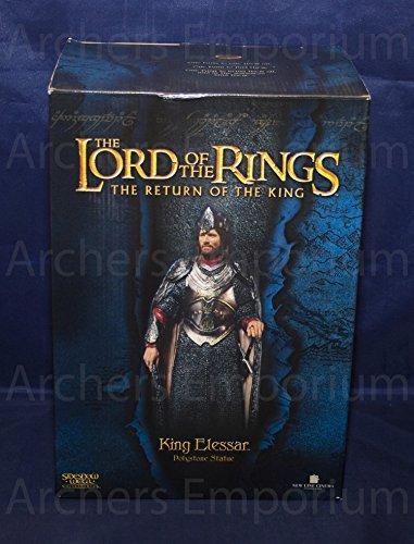 Herr der Ringe King Elessar - Aragorn König von Gondor 32cm Polystone Statue limitiert (3000) (Sideshow-herr Der Ringe)