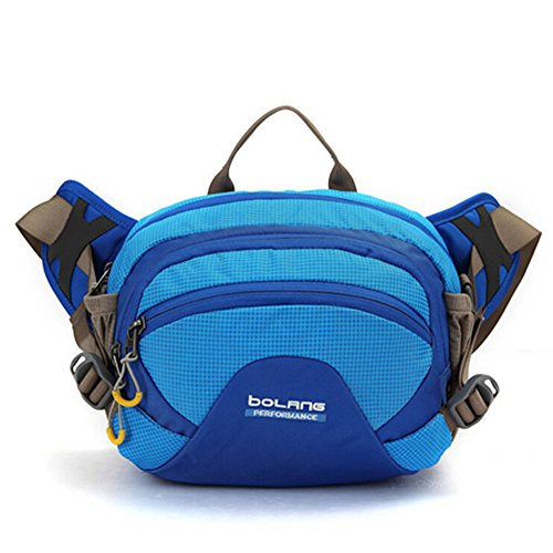 Outdoor peak sac banane ceinture à la main multifonctionnel vélo alpinisme oxford