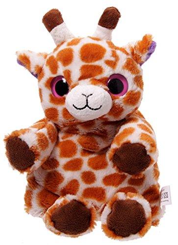 Wärmetier mit Körnerkissen Giraffe - 36 Kuscheltier Giraffe