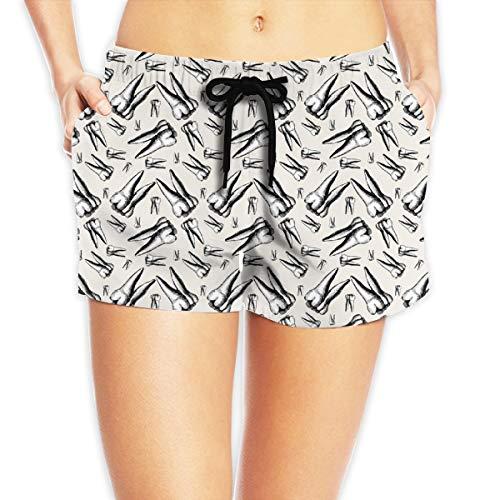 Pillowcase shop Tooth Fairy Treasure Beige Girl's Holiday Portable Beach Pant medium Treasure Beach Pants