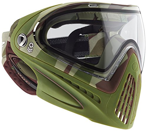 Dye Goggle I4 Barracks Olive-Thermal, One size, 40115501 (Thermal Maske Paintball Brille)