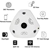 DS Vision VR 3D Panormic 360 LAN/WiFi CCTV Wi-Fi Fishey Camera with 2 Year Warranty