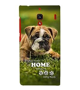 FUSON Beige Dog Pet Pug 3D Hard Polycarbonate Designer Back Case Cover for Xiaomi Redmi 1S :: Xiaomi Hongmi 1S