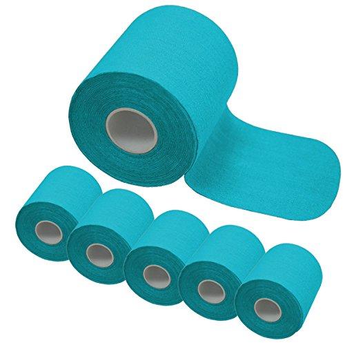 6-rollen-kinesiologie-tape-5-m-x-75-cm-in-5-farben-von-bb-sport-farbehellblau