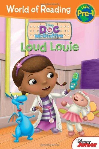 World of Reading: Doc McStuffins Loud Louie: Pre-Level 1 (World of Reading Disney - Pre-Level 1) by Sheila Sweeny Higginson (8-Jan-2013) Paperback