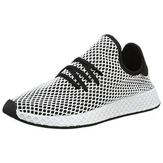 adidas Herren Deerupt Runner Gymnastikschuhe, Schwarz core Black/FTWR White, 46 2/3 EU