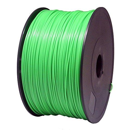 Sienoc 1kg 1.75mm ABS imprimante 3d Filament imprimante–avec bobine (Vert)