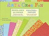 Art & Crea Fun - Knutselpapier / Art & Crea Fun - Bricolages en papier: 32 vellen met leuke motiefjes voor al je creative ideeën