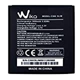 Jeija Clappio Batterie Wiko Cink Slim Batterie Interne de Rechange 1600 mAh Anti-Surcharge Anti-surchauffe - Noir
