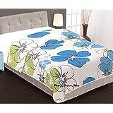 Jaipuri haat premium quality Jasmine Flower Print Reversible poly cotton AC Blanket/Dohar/AC Comfort/Blanket/Quilt (Single bed)