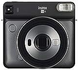 Fujifilm Instax SQ6 - Cámara analógica instantánea formato cuadrado + Pack de 10 fotografías, color blanco