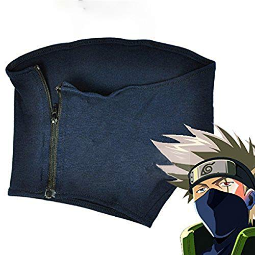 LACKINGONE Anime Cosplay Maske Naruto Kakashi Hatake Maske