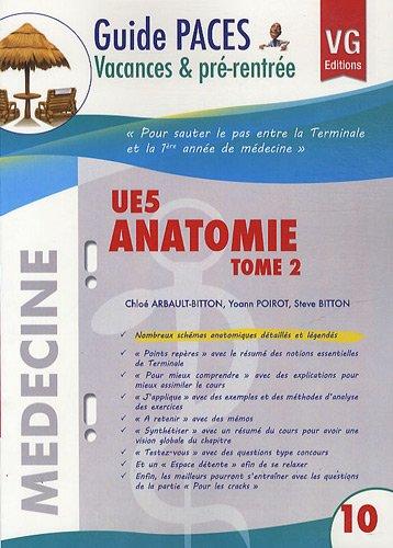 UE5 Anatomie : Tome 2