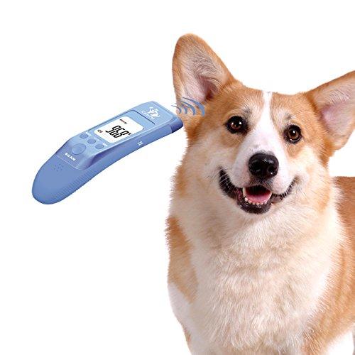 OneTwoThree Schnelle Klinische Haustier Thermometer für Katze, Hund und Big Ohr Tier, Maßnahme Pet-Temperatur genau, PET Körper und Objekt (Bad, Milch) Modus erhältlich, C/F umschaltbar -