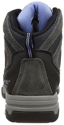 Hi-Tec Storm Waterproof, Chaussures de Randonnée Hautes femme Gris (Charcoal/graphite/cornflower 051)