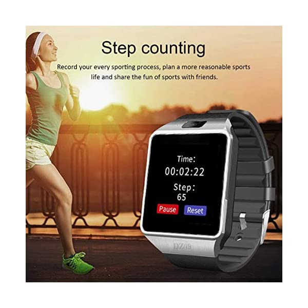 Funnyrunstore Smart Watch Dz09 Gold Silver Smartwatch Relojes para iOS para Android Sim Card Camera Camera Watch 2
