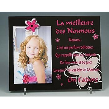 Cadre Photo Aimant Poème Pour Nounou Cadeau Pour La Fête Des Nounous Noël Anniversaire Fin De Contrat Fin Dannée Scolaire