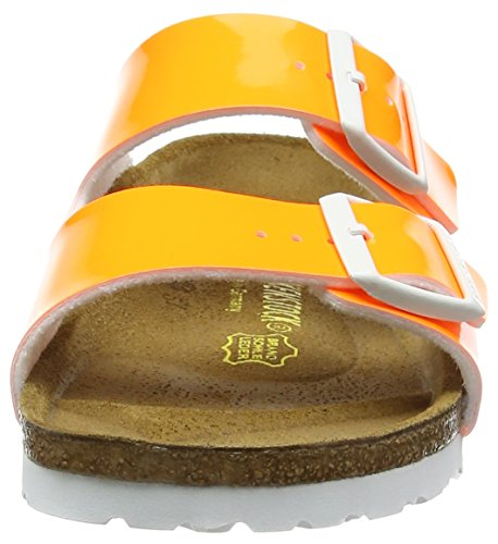 BirkenstockArizona Birko-flor - Ciabatte Donna Arancione (Neon Orange)