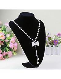 6d8bd2d5c56 Bluelans® - Buste de présentation pour colliers Présentoir en forme de  buste Présentoir à bijoux
