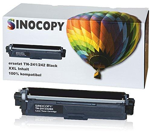 SinoCopy Black XXL Toner für Brother TN-242 TN-246 HL-3142 3152 3172 CW CDW DCP9017CDW - Schwarz je 2.500 Seiten, Color je 2.200 Seiten TN 242 TN-242 TN 246 TN-246 (Toner Hl-3170cdw Schwarz)