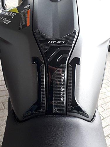 Aufkleber Tank Harz Gel 3d Kompatibel für Yamaha Motorräder Mt-07 von 2018