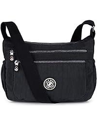 ABLE Multi Bolsillo Bolso Ocio Bolsa Viaje Mensajero Bolsas Impermeable Mujer Bolsos de Mano Bolsas de Viaje Messenger Bag