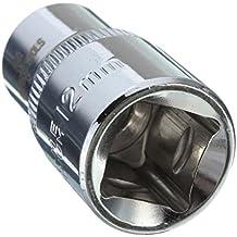 1/2pulgadas Llaves Allen Métrica Hexagonal de Cromo Vanadio Parte de Bobinado Corto Cabeza Hueca de Accionamiento - 12mm