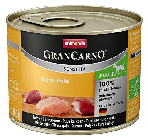 Animonda-GranCarno-Sensitive-Hundefutter-Nassfutter-fr-ausgewachsene-sensible-Hunde-verschiedene-Geschmacksrichtungen