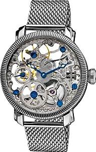 Akribos XXIV Reloj mecánico AK526SS Plateado 43 mm de Akribos XXIV
