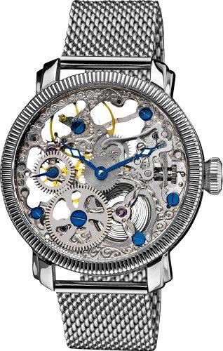 51E7ykekR6L - Akribos XXIV AK526SS Bravura Silver Mens watch