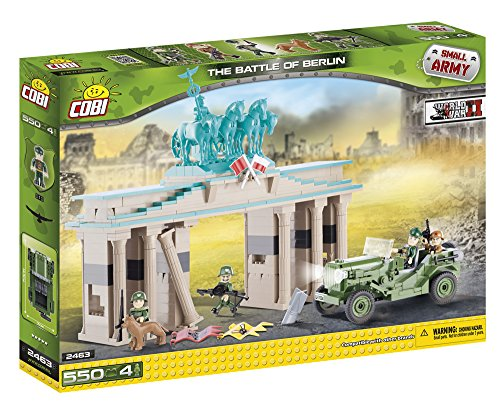COBI 2463 - The Battle of Berlin, Konstruktionsspielzeug, grün/beige thumbnail