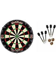 Winmau Blade 5Diana + McDart de dardos, 6 Steeldarts