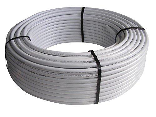 Mehrschichtverbundrohr, Aluverbundrohr 16x2mm, AL/PE-Xb nach DVGW, diffusionsdicht, 10m, 25m, 50m, 100m Rollen, Länge:10m