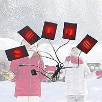USB Thermische Weste Heizkissen Einstellbare Dritte Getriebe Temperaturregelung Schalter Waschen Flexible Heizkissen... preisvergleich bei billige-tabletten.eu