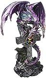 Design Toscano Statue Cryptic Shadow Keltischer Drache