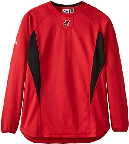 New Jersey Maillot Devils NHL 2010 Therma Base Tech Fleece