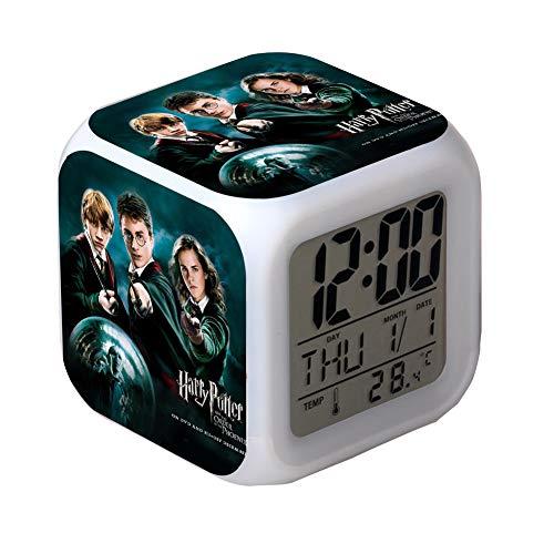 Harry Potter Reloj Despertador Colorful Creative Digital