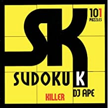 Killer Sudoku: 101 Puzzles by D. J. Ape (August 11,2006)