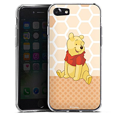 Apple iPhone X Silikon Hülle Case Schutzhülle Disney Winnie Puuh Merchandise Zubehör Silikon Case transparent