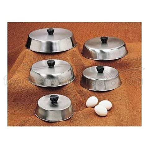 American Metalcraft BA640S 6 3/4 Round Stainless Steel Dome Basting Cover by American Metalcraft