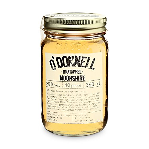 (O'Donnell Moonshine - Bratapfel (1 x 0,35L))