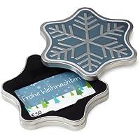 Amazon.de Geschenkgutschein in Geschenkdose (Schneeflocke) - mit kostenloser Lieferung am nächsten Tag